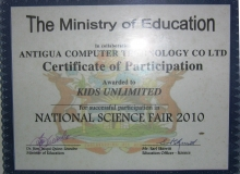 2010-Certificate-Science-Fair